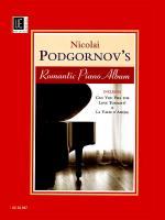 Nicolai Podgornov's Romantic Piano Album Sheet Music