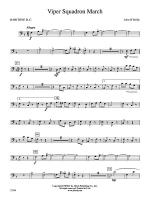 Viper Squadron March: Baritone B.C. Sheet Music