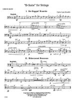 B-Suite for Strings: String Bass Sheet Music
