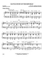 Battle Hymn of the Republic: Drums Sheet Music