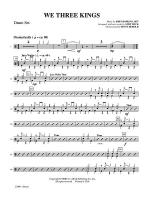 We Three Kings: Drums Sheet Music