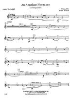 An American Hymntune (Amazing Grace): 2nd B-flat Trumpet Sheet Music
