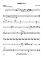 Thanksgiving: Timpani Sheet Music