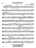 Spin, Dreidel, Spin: Viola Sheet Music