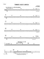 Three Jazz Carols: Drums Sheet Music