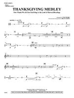 Thanksgiving Medley: 1st Percussion Sheet Music