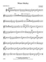 Winter Medley: Baritone T.C. Sheet Music