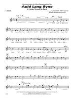 Auld Lang Syne (A Holiday Farewell for Band): Flute Sheet Music
