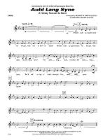Auld Lang Syne (A Holiday Farewell for Band): Oboe Sheet Music