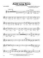 Auld Lang Syne (A Holiday Farewell for Band): 1st B-flat Trumpet Sheet Music
