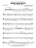 Auld Lang Syne (A Holiday Farewell for Band): 2nd B-flat Trumpet Sheet Music