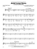 Auld Lang Syne (A Holiday Farewell for Band): Mallets Sheet Music