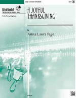 A Joyful Thanksgiving Sheet Music