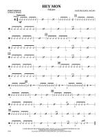 Hey Mon (Calypso): 2nd Percussion Sheet Music