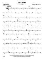 Hey Mon (Calypso): 3rd Percussion Sheet Music