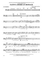 Native American Homage: 3rd Trombone Sheet Music