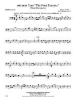 Autumn from The Four Seasons: String Bass Sheet Music