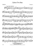 Zydeco Two-Step: 2nd Violin Sheet Music