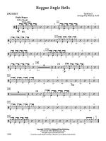 Reggae Jingle Bells: Drums Sheet Music