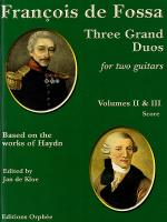 Three Grand Duos Volumes II & III Sheet Music