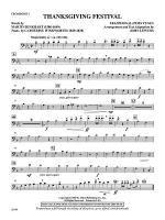 Thanksgiving Festival: 1st Trombone Sheet Music