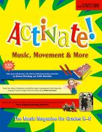 Activate! Aug/Sept 09 Sheet Music