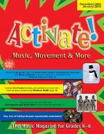 Activate! Dec 09/Jan 10 Sheet Music