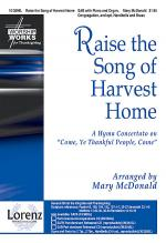 Raise the Song of Harvest Home Sheet Music