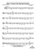 Who's Afraid of the Big Bad Samba?: B-flat Bass Clarinet Sheet Music