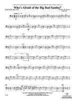 Who's Afraid of the Big Bad Samba?: Baritone B.C. Sheet Music