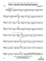 Who's Afraid of the Big Bad Samba?: Tuba Sheet Music