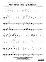 Who's Afraid of the Big Bad Samba?: 3rd Percussion Sheet Music