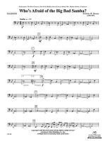 Who's Afraid of the Big Bad Samba?: Bassoon Sheet Music
