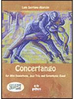 Concertango Sheet Music