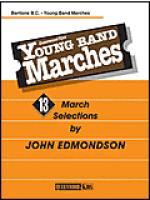 Young Band Marches - Baritone B.C. Sheet Music