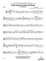 Irish Songs: Oboe Sheet Music