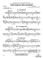 Irish Songs: Timpani Sheet Music