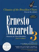Ernesto Nazareth - Vol. 3, Brazilian Choro Book/CD Set Sheet Music