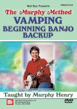 Vamping: Beginning Banjo Backup (Murphy Method) DVD Sheet Music