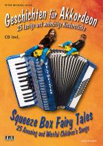 Squeeze Box Fairy Tales (Geschichten fur Akkordeon) Book/CD Set Sheet Music