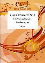 Violin Concerto N! 2 (Solo Violin) Sheet Music