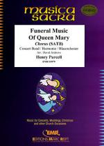 Funeral Music Of Queen Mary Sheet Music