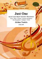 Just One (Alto Saxophone Solo) Sheet Music
