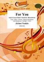 For You (Alto Saxophone Solo) Sheet Music