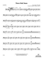 Three Folk Tunes: Bassoon Sheet Music