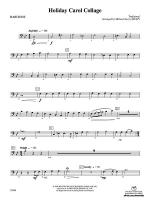 Holiday Carol Collage: Baritone B.C. Sheet Music