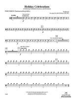 Holiday Celebrations (Celebrating Chanukah, Kwanzaa and Christmas): 1st Percussion Sheet Music