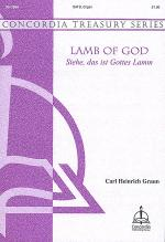 Lamb of God (Siehe, das ist Gottes Lamm) Sheet Music