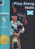 World Music- Scotland with CD Sheet Music