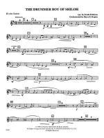 The Drummer Boy of Shiloh: E-flat Alto Clarinet Sheet Music